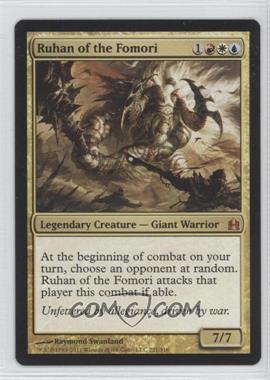 2011 Magic: The Gathering - - Commander Format #221 - Ruhan of the Fomori