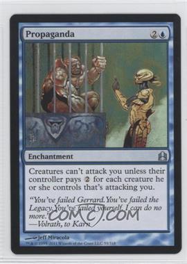 2011 Magic: The Gathering - - Commander Format #55 - Propaganda