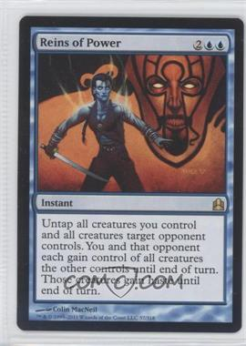 2011 Magic: The Gathering - - Commander Format #57 - Reins of Power