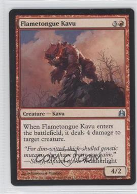 2011 Magic: The Gathering - Commander Format #124 - Flametongue Kavu