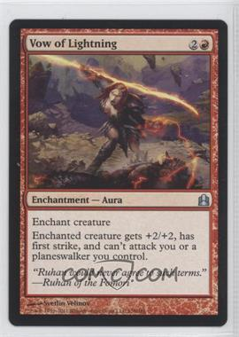 2011 Magic: The Gathering - Commander Format #138 - Vow of Lightning