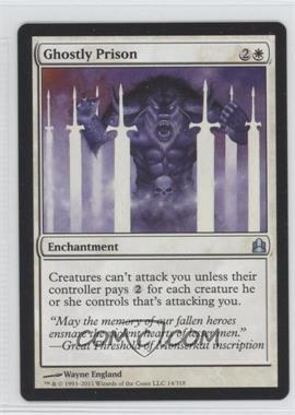 2011 Magic: The Gathering - Commander Format #14 - Ghostly Prison