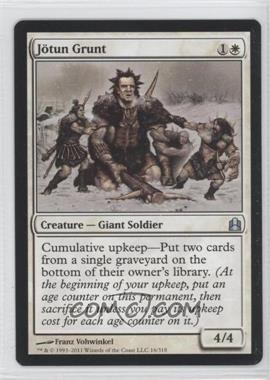 2011 Magic: The Gathering - Commander Format #16 - Jötun Grunt