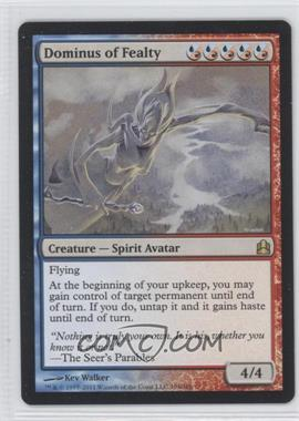 2011 Magic: The Gathering - Commander Format #194 - Dominus of Fealty
