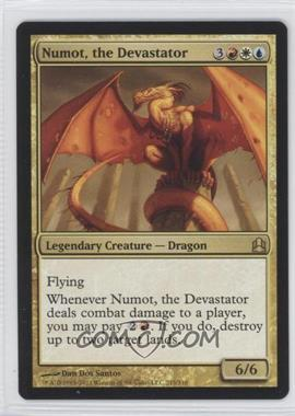 2011 Magic: The Gathering - Commander Format #215 - Numot, the Devastator
