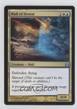 2011 Magic: The Gathering - Commander Format #237 - Wall of Denial