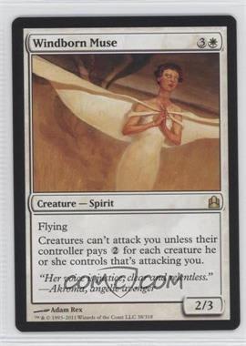2011 Magic: The Gathering - Commander Format #38 - Windborn Muse
