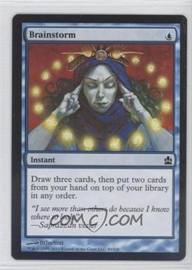 2011 Magic: The Gathering - Commander Format #40 - Brainstorm