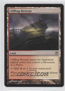 2011 Magic: The Gathering - Innistrad Booster Pack [Base] #238 - Clifftop Retreat