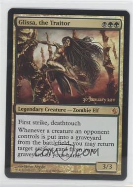 2011 Magic: the Gathering - Mirrodin Besieged Booster Pack [Base] Foil #96 - Glissa, the Traitor (Prerelease)