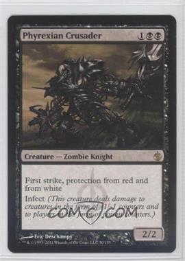 2011 Magic: the Gathering - Mirrodin Besieged Booster Pack [Base] #50 - Phyrexian Crusader