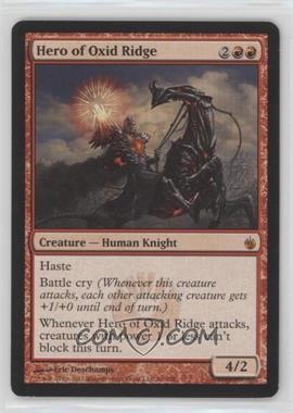 2011 Magic: the Gathering - Mirrodin Besieged Booster Pack [Base] #66 - Hero of Oxid Ridge