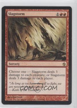 2011 Magic: the Gathering - Mirrodin Besieged Booster Pack [Base] #75 - Slagstorm