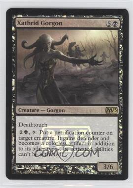 2012 Magic: The Gathering - Core Set: 2013 - Booster Pack [Base] - Foil #118 - Xathrid Gorgon (Prerelease Promo)
