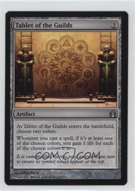 2012 Magic: The Gathering - Return to Ravnica Booster Pack [Base] #235 - Tablet of the Guilds