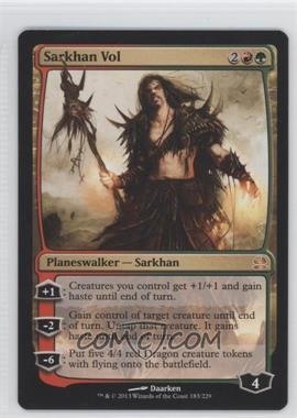 2013 Magic: The Gathering - Modern Masters - Booster Pack Compilation Set #183 - Sarkhan Vol