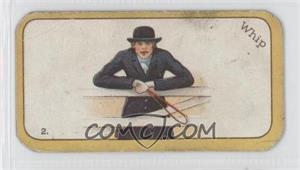 1926 Carreras The Black Cat Greyhound Racing Game - Tobacco [Base] #2 - Whip [GoodtoVG‑EX]