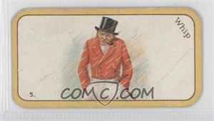 1926 Carreras The Black Cat Greyhound Racing Game - Tobacco [Base] #5 - Whip [GoodtoVG‑EX]