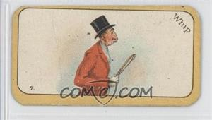 1926 Carreras The Black Cat Greyhound Racing Game - Tobacco [Base] #7 - Whip [GoodtoVG‑EX]