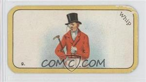 1926 Carreras The Black Cat Greyhound Racing Game - Tobacco [Base] #9 - Whip [GoodtoVG‑EX]