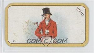 1926 Carreras The Black Cat Greyhound Racing Game Tobacco [Base] #9 - Whip [GoodtoVG‑EX]
