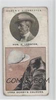 Hon. George Lambton (Lord Derby's Colours) [GoodtoVG‑EX]