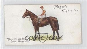 1933 Player's Derby and Grand National Winners Tobacco [Base] #10 - Gay Crusader [Good to VG‑EX]