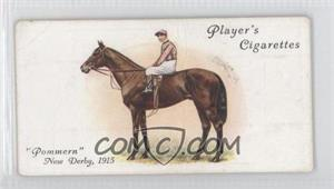 1933 Player's Derby and Grand National Winners Tobacco [Base] #8 - Pommern