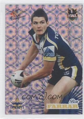 2008 Select NRL Champions Holographic Foil #HF101 - [Missing]