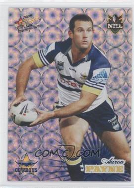 2008 Select NRL Champions Holographic Foil #HF107 - [Missing]