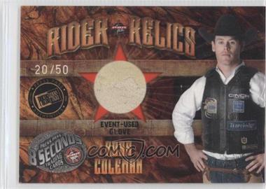 2009 Press Pass 8 Seconds - Rider Relics - Holofoil #RR-RC - Ross Coleman /50