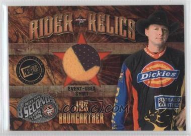 2009 Press Pass 8 Seconds - Rider Relics #RR-JB - Joe Baumgartner