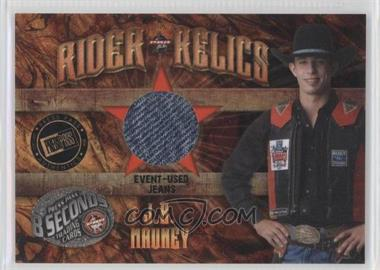 2009 Press Pass 8 Seconds - Rider Relics #RR-JM2 - J.B. Mauney