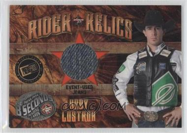 2009 Press Pass 8 Seconds - Rider Relics #RR-KL2 - Kody Lostroh