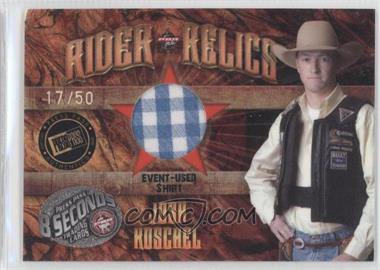 2009 Press Pass 8 Seconds Rider Relics Holofoil #RR-1 - [Missing] /50