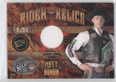 2009 Press Pass 8 Seconds Rider Relics Holofoil #RR-MB - Matt Bohon /50