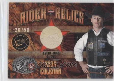 2009 Press Pass 8 Seconds Rider Relics Holofoil #RR-RC - Ross Coleman /50