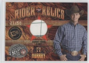 2009 Press Pass 8 Seconds Rider Relics Holofoil #RR-TM - Ty Murray /50