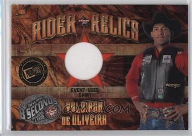 2009 Press Pass 8 Seconds Rider Relics #RR-VO - Valdiron De Oliveira