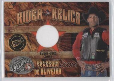 2009 Press Pass 8 Seconds Rider Relics #RR-VO - Valdiron De Oliveira
