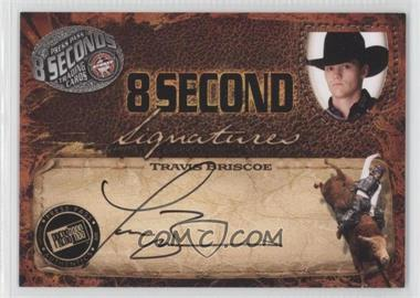2009 Press Pass 8 Seconds Signatures Black Ink #TRBR - Travis Briscoe