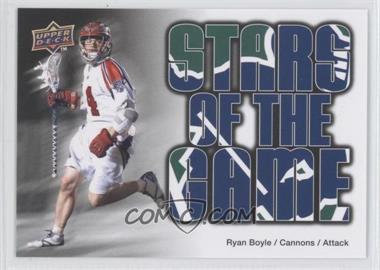 2010 Upper Deck Major League Lacrosse #88 - Ryan Boyle