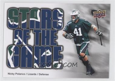 2010 Upper Deck Major League Lacrosse #91 - Nicky Polanco