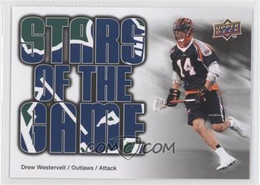2010 Upper Deck Major League Lacrosse #93 - Drew Westervelt