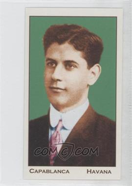 2011 FaceChess #4 - Jose Capablanca