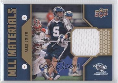 2011 Upper Deck Major League Lacrosse - MLL Materials #M-AS - Alex Smith