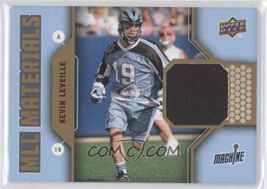 2011 Upper Deck Major League Lacrosse - MLL Materials #M-KL - Kevin Leveille