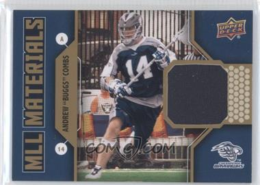"2011 Upper Deck Major League Lacrosse MLL Materials #M-AC - Andrew ""Buggs"" Combs"