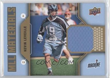 2011 Upper Deck Major League Lacrosse MLL Materials #M-KL - Kevin Leveille