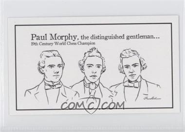 2013 FaceChess SE - [Base] #3 - Paul Morphy